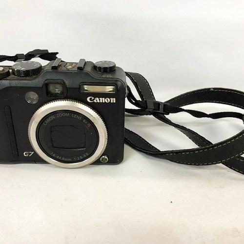 カメラ買取実績紹介「Canon キャノン Power Shot G7 現状品」