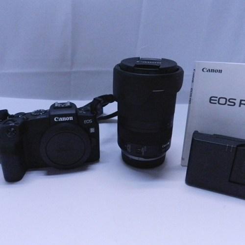 カメラ買取実績紹介「CANON キャノン EOS RP RF24-240 IS USM レンズキット ブラック ミラーレス」