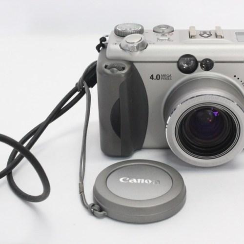 カメラ買取実績紹介「Canon キャノン PowerShot G3 ボディ」