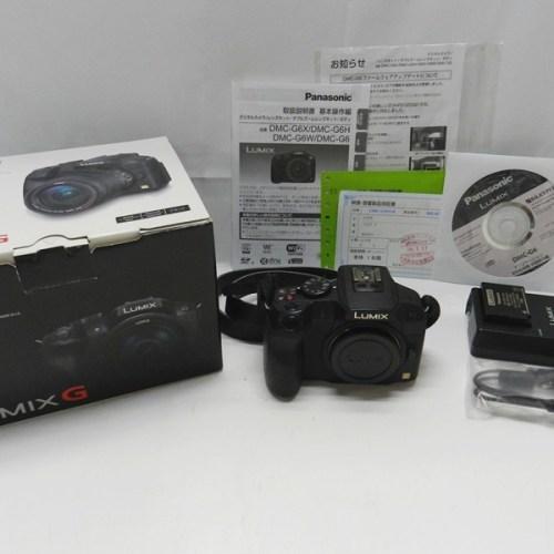 カメラ買取実績紹介「Panasonic パナソニック LUMIX DMC-G6 ボディのみ」