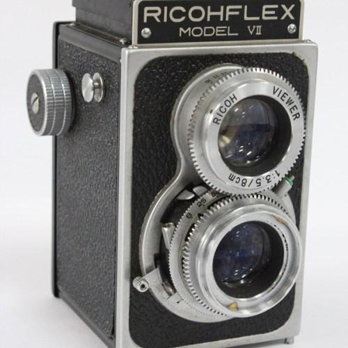 カメラ買取実績紹介「RICOH リコー RICOHFLEX MODEL VII 二眼カメラ」