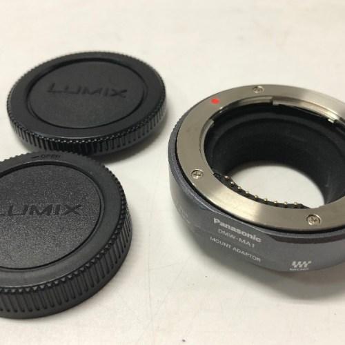 カメラ買取実績紹介「Panasonic パナソニック DMW-MA1 LUMIX マウントアダプター マイクロフォーサーズ」