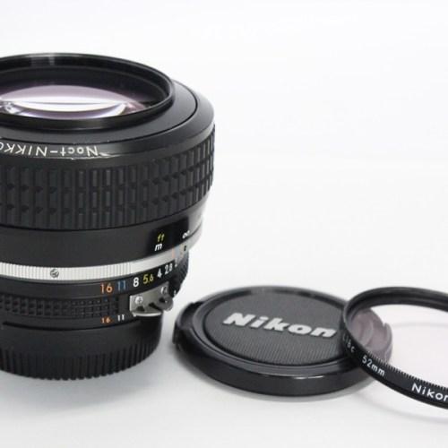 カメラ買取実績紹介「Nikon ニコン Ai-s Noct-NIKKOR 58mm F1.2」