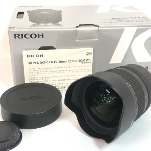 カメラ買取実績紹介「RICOH リコー PENTAX-D FA 15-30mm F2.8ED SDM WR」