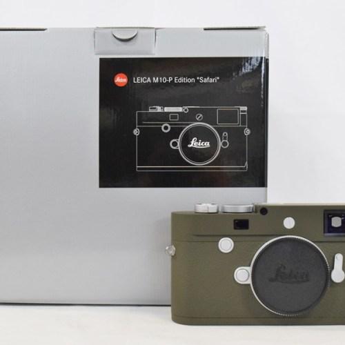 カメラ買取実績紹介「Leica ライカ M10-P Safari」