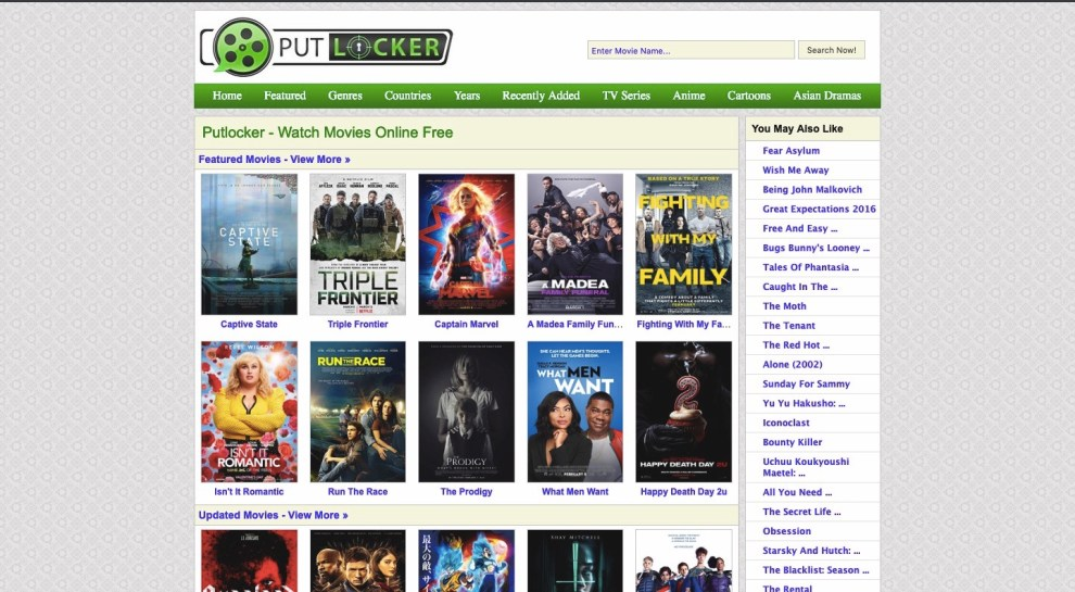 putlockers download movies free