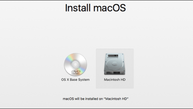 Mac OS Installation