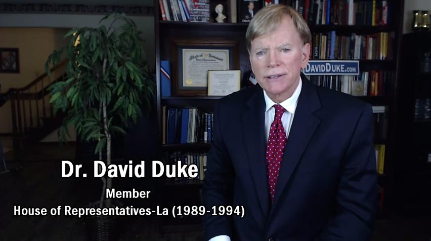David Duke Running for Senate, Video Announcement and Transcript