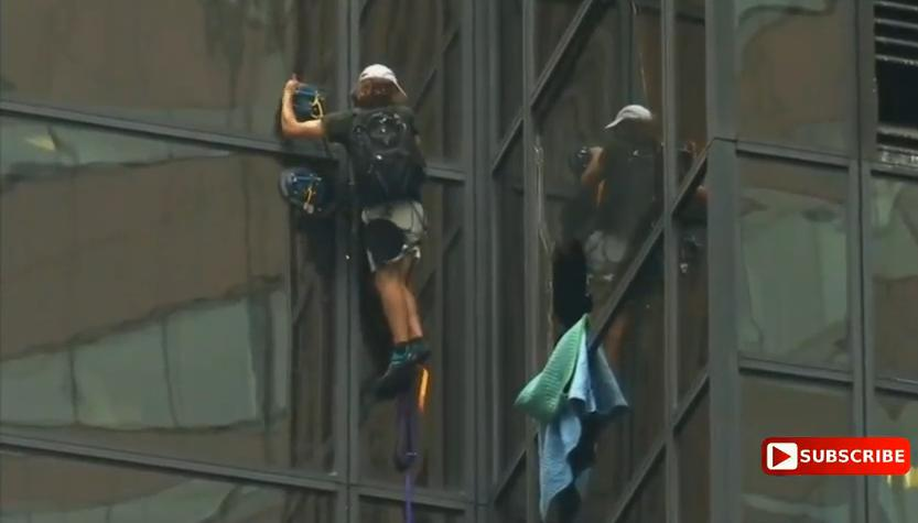 Trump Tower Climber's Researched, Significant and Guaranteed Message To Donald Trump