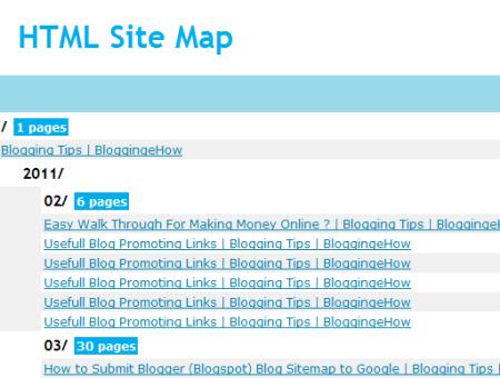 HTML_Blogfruit