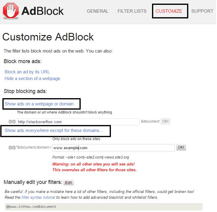 AdBlock case
