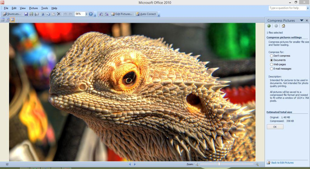Microsoft Picture Manager Tool