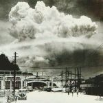 Nagasaki, 20 minutes after the atomic bombing in 1945