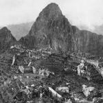 First photo following the discovery of Machu Pichu in 1912