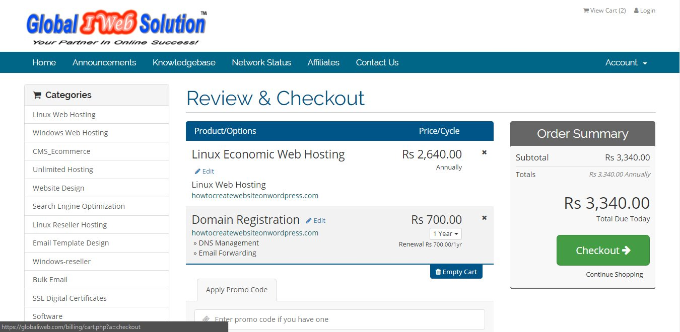 how to create a domain name to sell