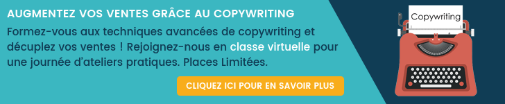 Formation copywriting