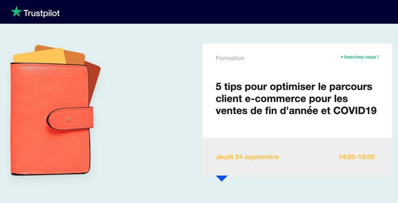 webinar optimiser parcours client