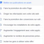 Les Structures de Campagnes sur Facebook