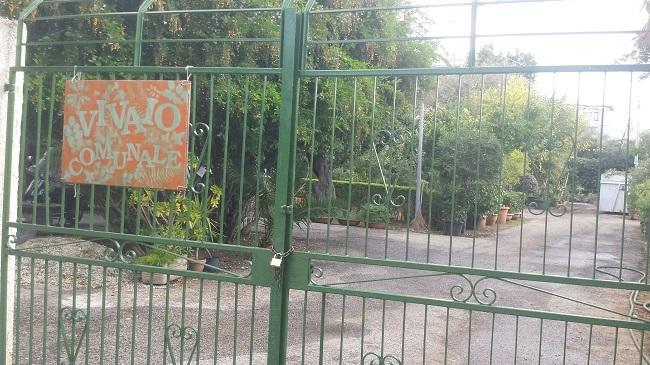 vivaio comunale di via di villa ortisi a siracusa   Webmarte.tv - Notizie e  Informazioni in Sicilia