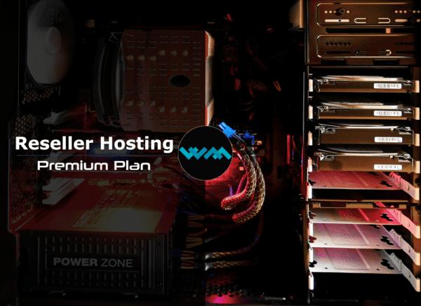 WM Host reseller hosting premium plan
