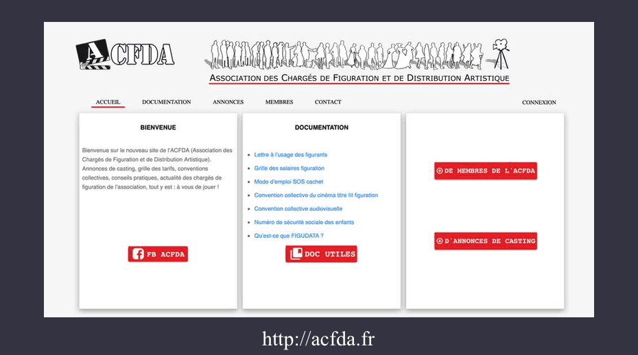 ACFDA wordpress
