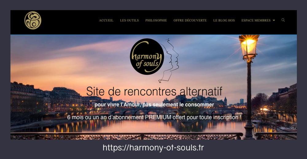 Harmony of souls site de rencontre