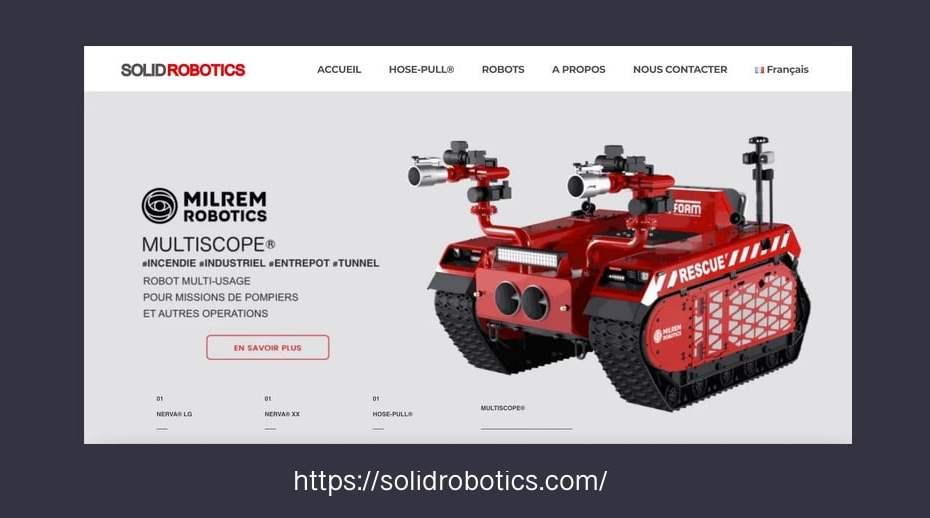 solid robotics maintenance site internet