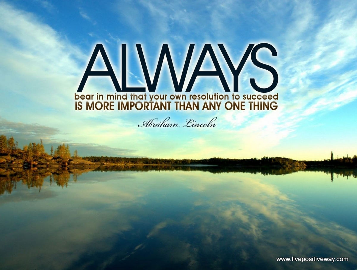 Abraham Lincoln Quotes Wallpaper