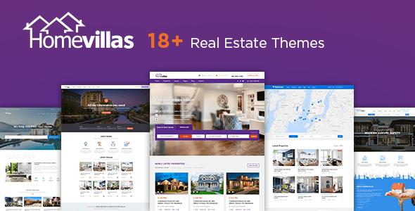 Home Villas Real Estate WordPress Theme