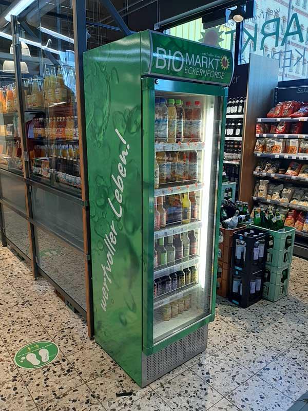 Kühlschrankfolierung