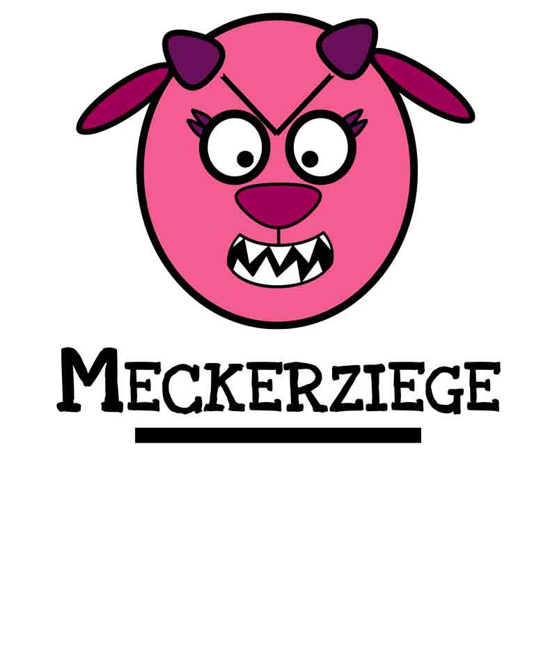 Meckerziege-Design