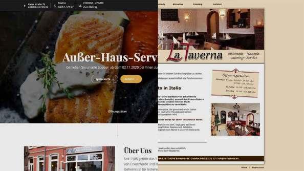 Website Redesign Eckernförde