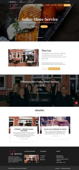 Website Redesign Beispiel