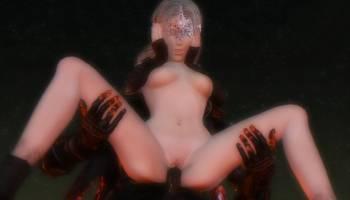 Fire Keeper se fait prendre la chatte dans Dark Souls hentai