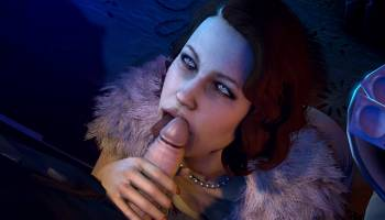 Martha Wayne suce dans Batman porno