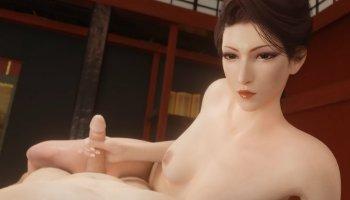 Madam M branle une bite dans Final Fantasy 7 Remake hentai