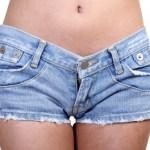 женски къси дънки