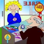 продавачка