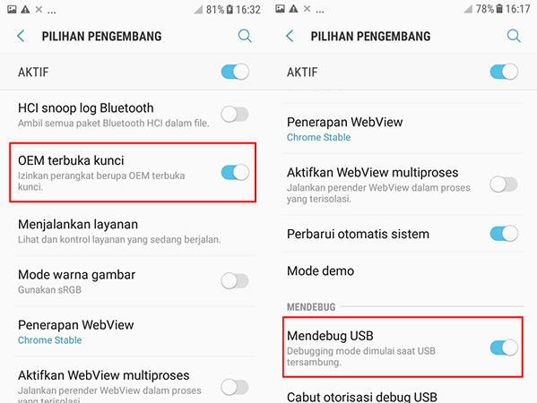 Cara Root Samsung Galaxy A5 2017 SM-A520F | CF-Auto Root (Marshmallow)