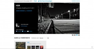 Photoshop Express Galerie Seite