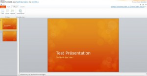 SkyDrive PowerPoint