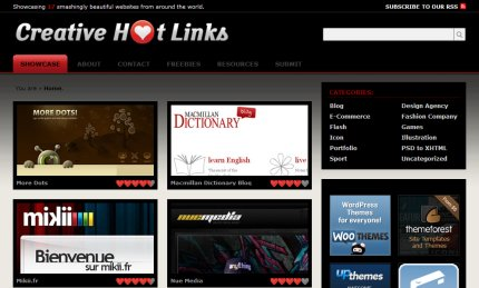 creativehotlinks homepage