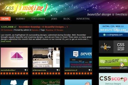 css-imagine homepage