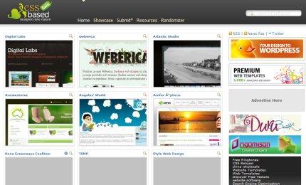 cssbased homepage