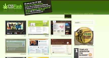 cssflash homepage