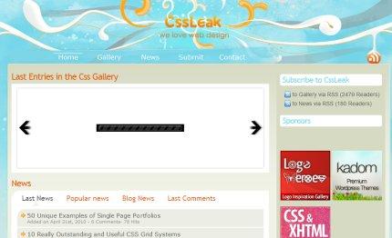 cssleak homepage