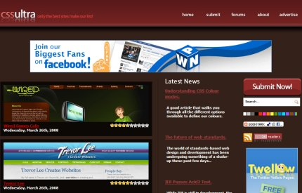 cssultra homepage