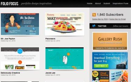 foliofocus homepage