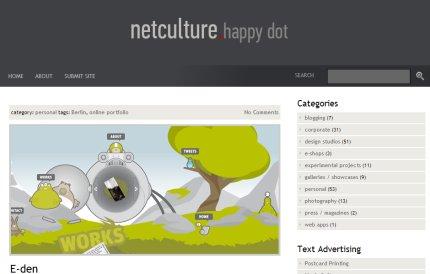 netculture homepage