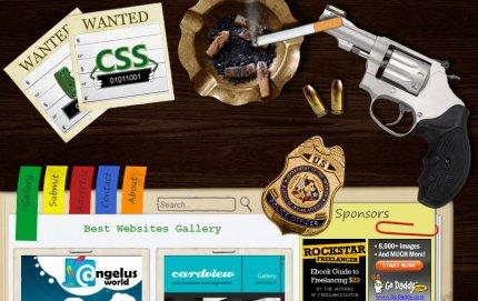 wantedcss homepage